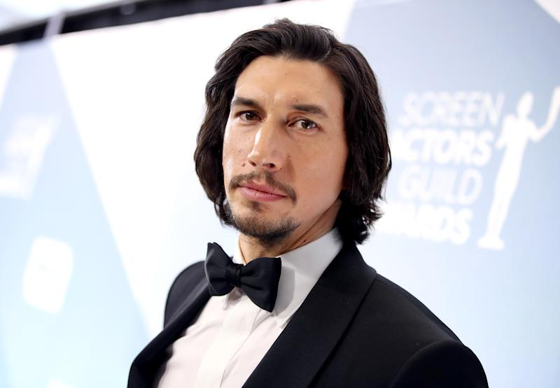LOS ANGELES, CALIFORNIA - JANUARY 19: Adam Driver attends the 26th Annual Screen ActorsGuild Awards at The Shrine Auditorium on January 19, 2020 in Los Angeles, California. (Photo by Rich Fury/Getty Images)