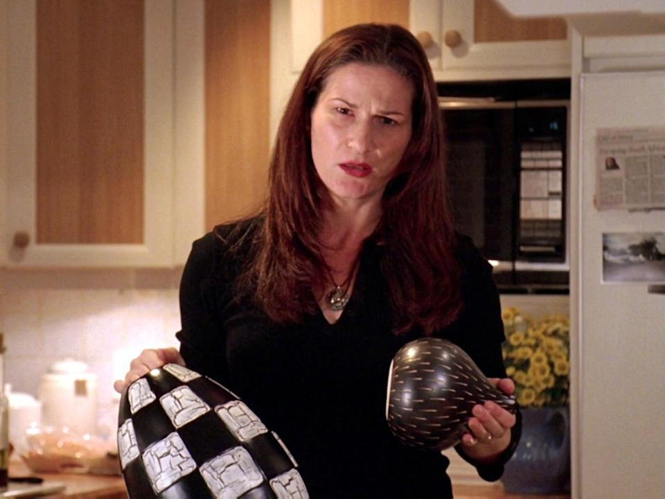 """""""This is the fertility vase of the Ndebele tribe. Does that mean anything to you."""""""