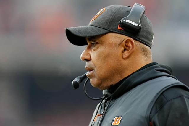 While Marvin Lewis isn't the ideal Rooney Rule candidate, he acknowledged that change still needs to be made in the NFL. (Kirk Irwin/Getty Images)