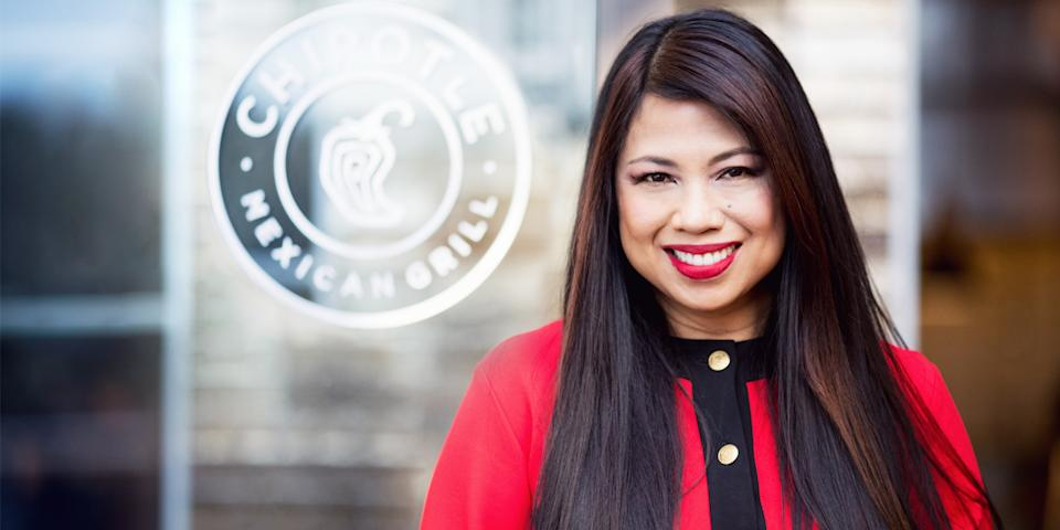 Marissa Andrada, chief diversity, inclusion and people officer, Chipotle