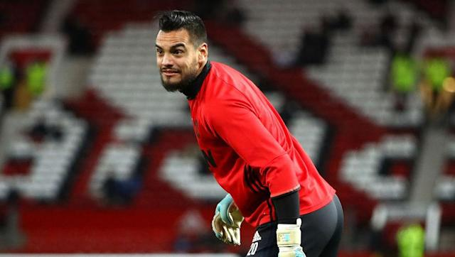 """Manchester United goalkeeper Sergio Romero has proven to be a quiet hero during his time at Old Trafford. Only sparingly called upon as back-up to David de Gea, he is yet to let the team down and even shone as hero with an outstanding late save against FC Rostov last week. When it comes to his United kit, though, there is one odd customisation he has to make. """"I've got a bit of an obsession with my shorts. I like my goalkeeper shorts to be the same length as basketball shorts. They need to be..."""