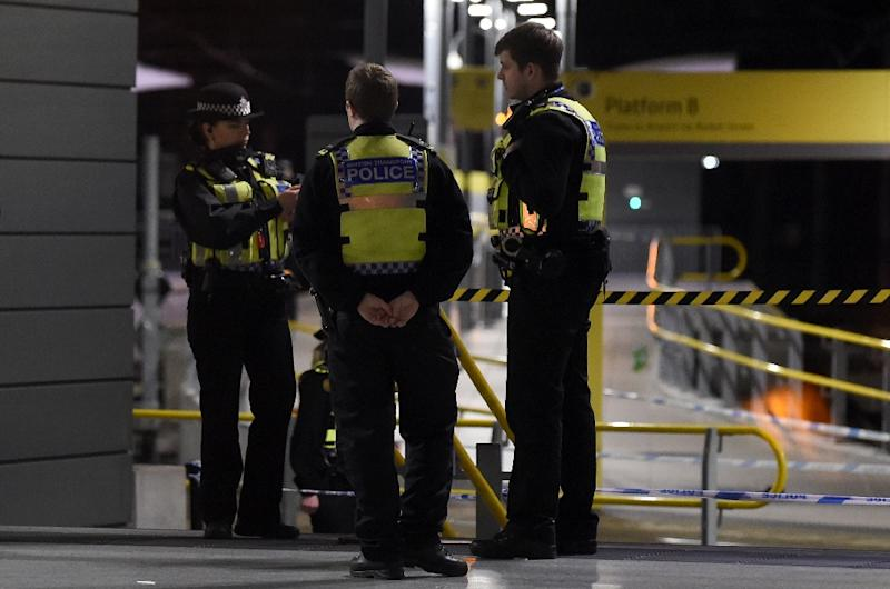 """Manchester police are conducting a formal """"terrorist investigation"""" into a stabbing at the city's main railway station on Monday"""
