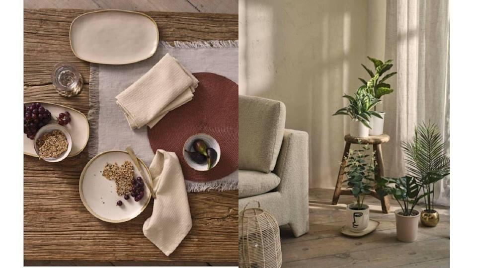 """<p>Primark have become as reliable for interior inspo as the have for a pair of emergency tights or last minute going out dress, and the latest products to drop in store are no exception. What with many of us spending more time than ever at home, we've been attempting bedroom makeovers left right and centre, <a href=""""https://www.cosmopolitan.com/uk/interiors/g22140406/small-bedroom-ideas/"""" rel=""""nofollow noopener"""" target=""""_blank"""" data-ylk=""""slk:reorganising our storage"""" class=""""link rapid-noclick-resp"""">reorganising our storage</a> and picking <a href=""""https://www.cosmopolitan.com/uk/interiors/g34041706/bedroom-wall-art/"""" rel=""""nofollow noopener"""" target=""""_blank"""" data-ylk=""""slk:wall art for the, well, walls."""" class=""""link rapid-noclick-resp"""">wall art for the, well, walls.</a> </p><p>Now Primark is getting in on the action, too. A teaser from their summer 2021 homeware collection is all about getting cosy, thanks to the velvet cushions, multiple fragrances and gold accented accessories. Get us to the store already!<br></p>"""