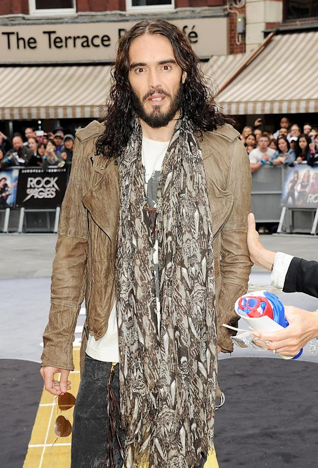 <p>British actor Russell Brand was ordered to complete 20 hours of community service and pay a fine of $500 stemming from a charge that he angrily grabbed a photographer's iPhone out of his hand and threw it through the window of an office building in New Orleans. Brand won't have to do any hard labor, however, and will instead work with a non-profit which helps people with addictions. If he completes the service, the misdemeanor will be subsequently tossed out (kind of like that iPhone). (6/10/2012)</p>