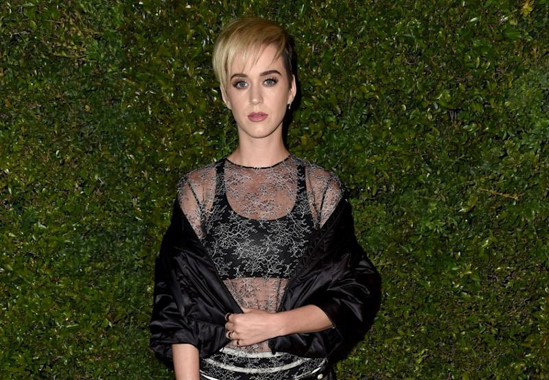 Katy Perry morphed into this famous celebrity chef for National Look Alike Day