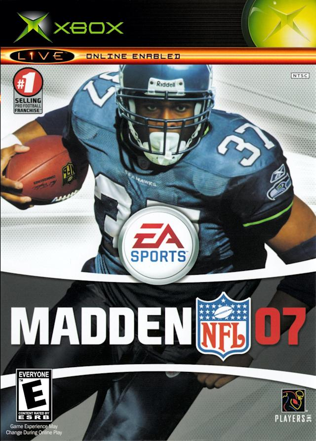 Madden 07 cover (via EA Sports/Microsoft)