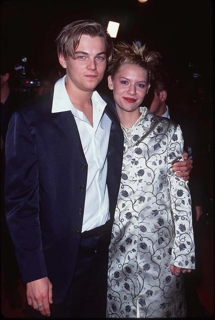<p>Leonardo DiCaprio and Claire Danes at the Los Angeles Premiere of William Shakespeare's Romeo and Juliet</p>