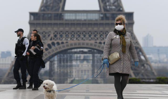 Coronavirus: Face coverings become mandatory across Paris as WHO warns coronavirus on the rise in Europe