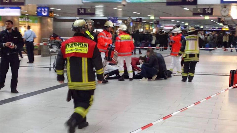 Seven Injured in Dusseldorf Train Station by Axe-Wielding Man