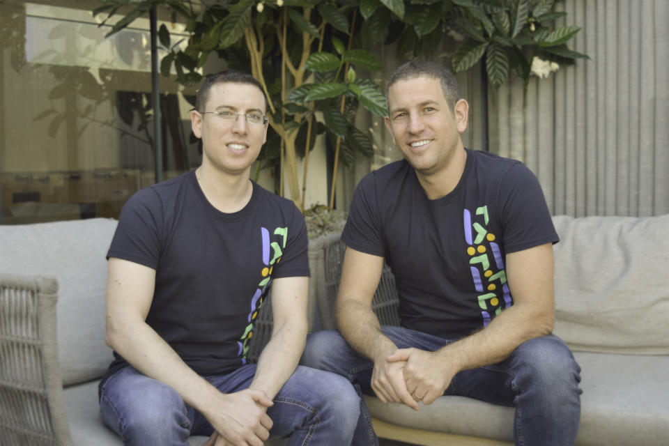 build.security co-founders Amit Kanfer, CEO (rt.); Dekel Braunstein, CTO (Photo: Business Wire)