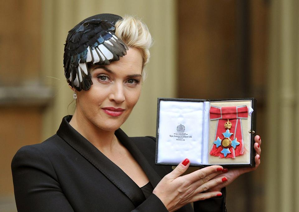 <p>Winslet was made a Commander of the Order of the British Empire (CBE) by Queen Elizabeth for services to drama in 2012.</p>