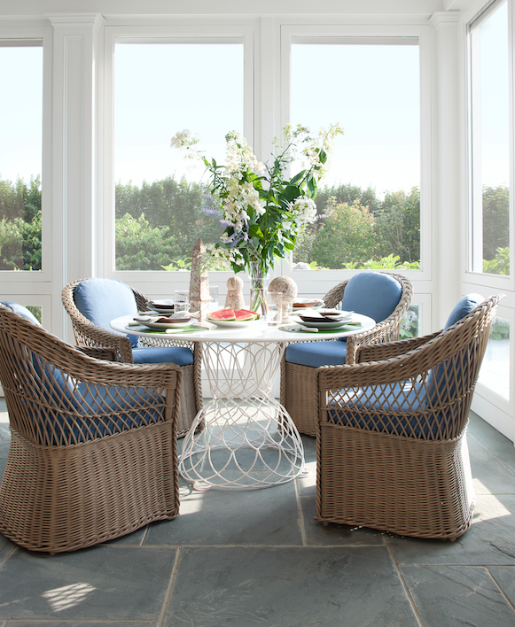 "<p>No matter the decor, any room benefits from a touch of wicker. The understated technique brings a dose of texture to <a href=""http://www.veranda.com/home-decorators/"" target=""_blank"">contemporary spaces</a> and can leaven even the most formal of traditional scenes. It's also a versatile shape-shifter: Taking on forms as varied as chairs, lighting, baskets, and mirrors, it's excessively easy — and stylish — to adopt, <a href=""https://www.veranda.com/garden-landscaping-inspiration/"" target=""_blank"">indoors and out</a>.</p>"