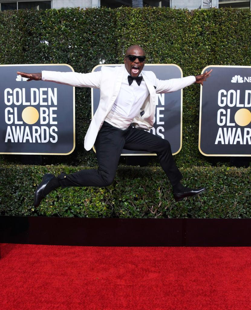 <p>Terry Crews attends the 76th Annual Golden Globe Awards at the Beverly Hilton Hotel in Beverly Hills, Calif., on Jan. 6, 2019. (Photo: Getty Images) </p>