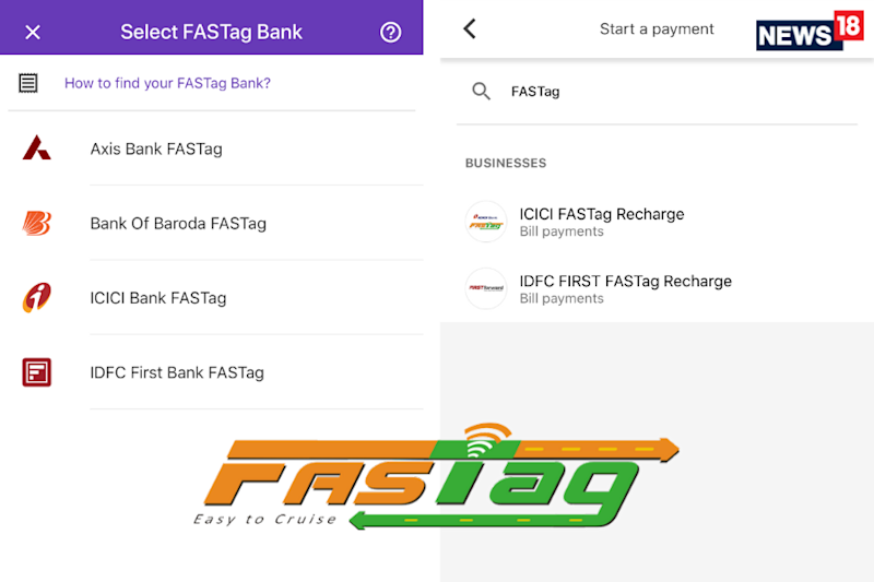 FASTag Recharge Now Made Easier by PhonePe, Google Pay And BHIM: Here is How