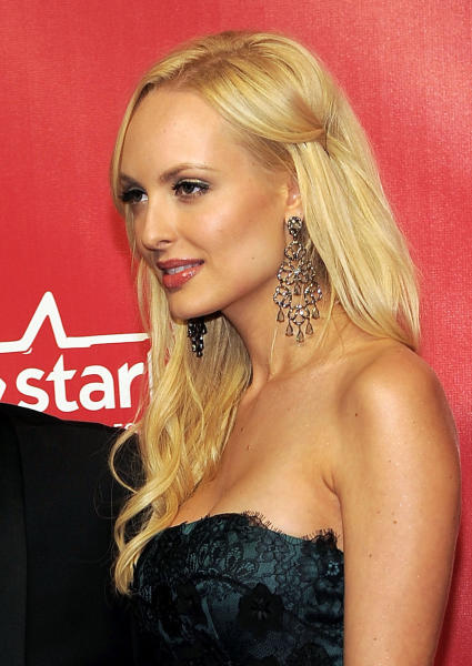 "FILE - In this Feb. 10, 2012, file photo, Playboy ""bunny"" Shera Bechard arrives at the MusiCares Person of the Year gala in Los Angeles. A judge has ordered the former Playboy centerfold model to provide copies of a lawsuit she filed last week against Elliott Broidy, a top fundraiser for President Donald Trump, to porn actress Stormy Daniels' lawyer, Michael Avenatti and others. Los Angeles County Superior Court Judge Ernest Hiroshige denied requests from news organizations Tuesday, July 10, 2018, to make the lawsuit public. The suit also names Bechard's former attorney, Keith Davidson, and Daniels' attorney, Avenatti. (AP Photo/Chris Pizzello, File)"