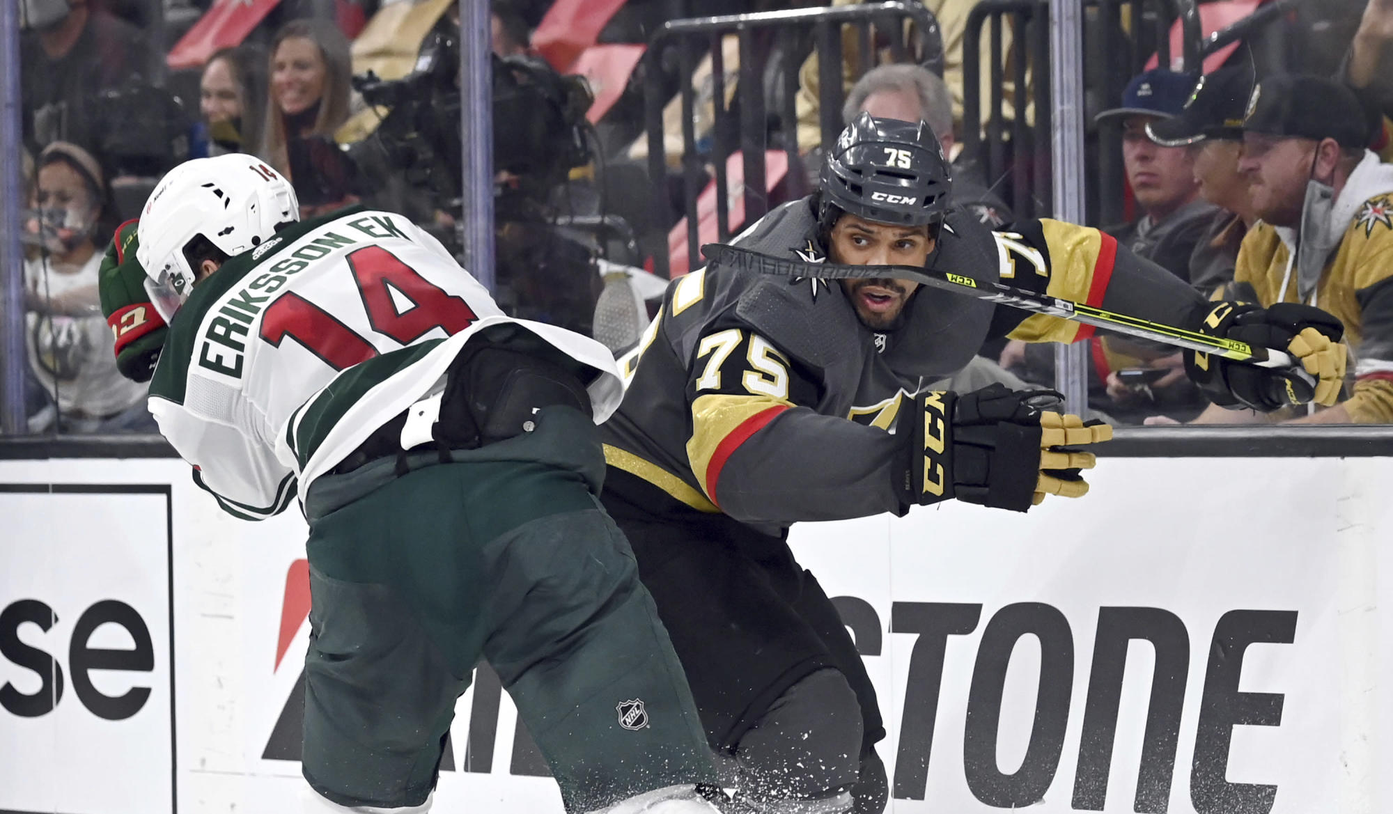 Vegas' Reaves suspended 2 games by NHL for hit vs. Avalanche