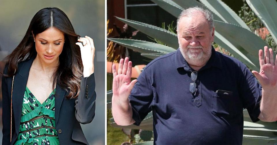 Meghan Markle and her father Thomas [Photo: ABC News]