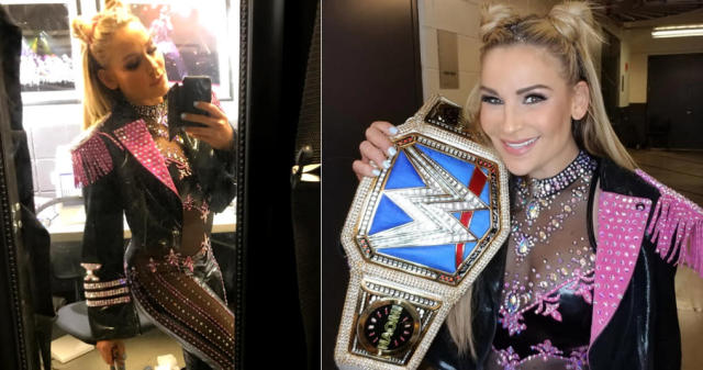 "Natalya ""Nattie"" Neidhart won a championship at WWE's SummerSlam. (Photo: Instagram/natbynature)"
