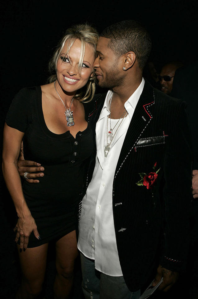 Pam Anderson, Usher