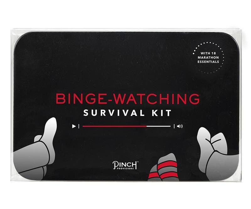 "<p>pinchprovisions.com</p><p><strong>$20.00</strong></p><p><a href=""https://www.pinchprovisions.com/products/binge-watching-survival-kit"" rel=""nofollow noopener"" target=""_blank"" data-ylk=""slk:Shop Now"" class=""link rapid-noclick-resp"">Shop Now</a></p>"