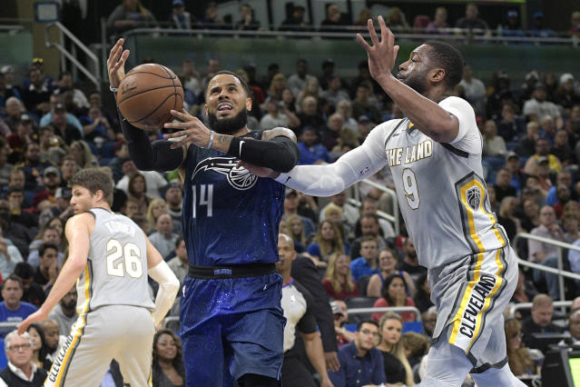 "<a class=""link rapid-noclick-resp"" href=""/nba/players/4471/"" data-ylk=""slk:D.J. Augustin"">D.J. Augustin</a> saw his fantasy value rise after the trade deadline (AP Photo)."