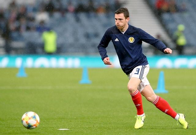 Scotland captain Andy Robertson pulled out of the squad (Steve Welsh/PA)