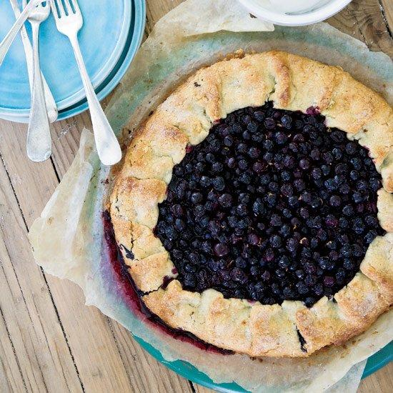 """<p>Jeremy Sewall adds a little candied ginger to the tart's crust for a hint of spice; feel free to add more or omit it altogether.</p><p><a href=""""https://www.foodandwine.com/recipes/free-form-blueberry-tart"""">GO TO RECIPE</a></p>"""