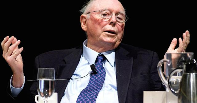 Berkshire Hathaway vice chairman Charlie Munger