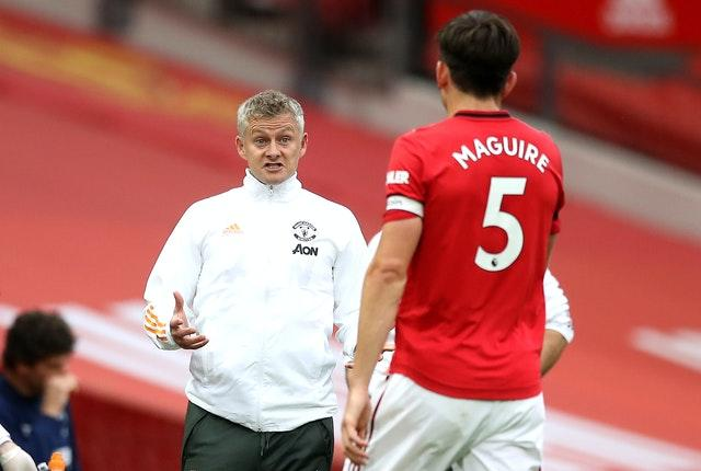 Ole Gunnar Solskjaer, left, has an important role in rebuilding Harry Maguire's confidence, according to Ferdinand