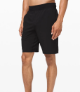 """<p><a class=""""link rapid-noclick-resp"""" href=""""https://go.redirectingat.com?id=74968X1596630&url=https%3A%2F%2Fshop.lululemon.com%2Fp%2Fmen-shorts%2FTHE-Short-Linerless-9-Updated%2F_%2Fprod9010174%3Fcolor%3D0001&sref=https%3A%2F%2Fwww.prevention.com%2Flife%2Fg29747276%2Fbest-yoga-gifts%2F"""" rel=""""nofollow noopener"""" target=""""_blank"""" data-ylk=""""slk:SHOP NOW"""">SHOP NOW</a> </p><p>Even if the recipient winds up wearing these yoga shorts to lounge around the house, he'll be psyched about how comfortable and stretchy they are. But they also make it easy to move without inhibition when worn for their actual purpose, a.k.a. working out.</p>"""