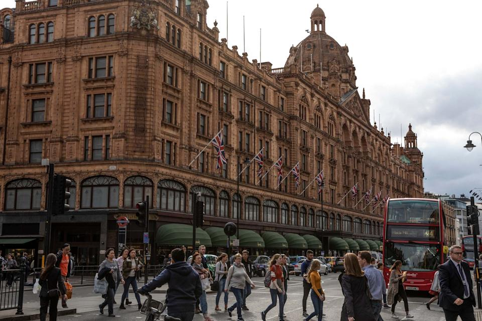 Despite a flagship case involving a woman who spent £16 million at Harrods, powers for seizing dirty money from foreign tycoons are being under-used (Getty Images)