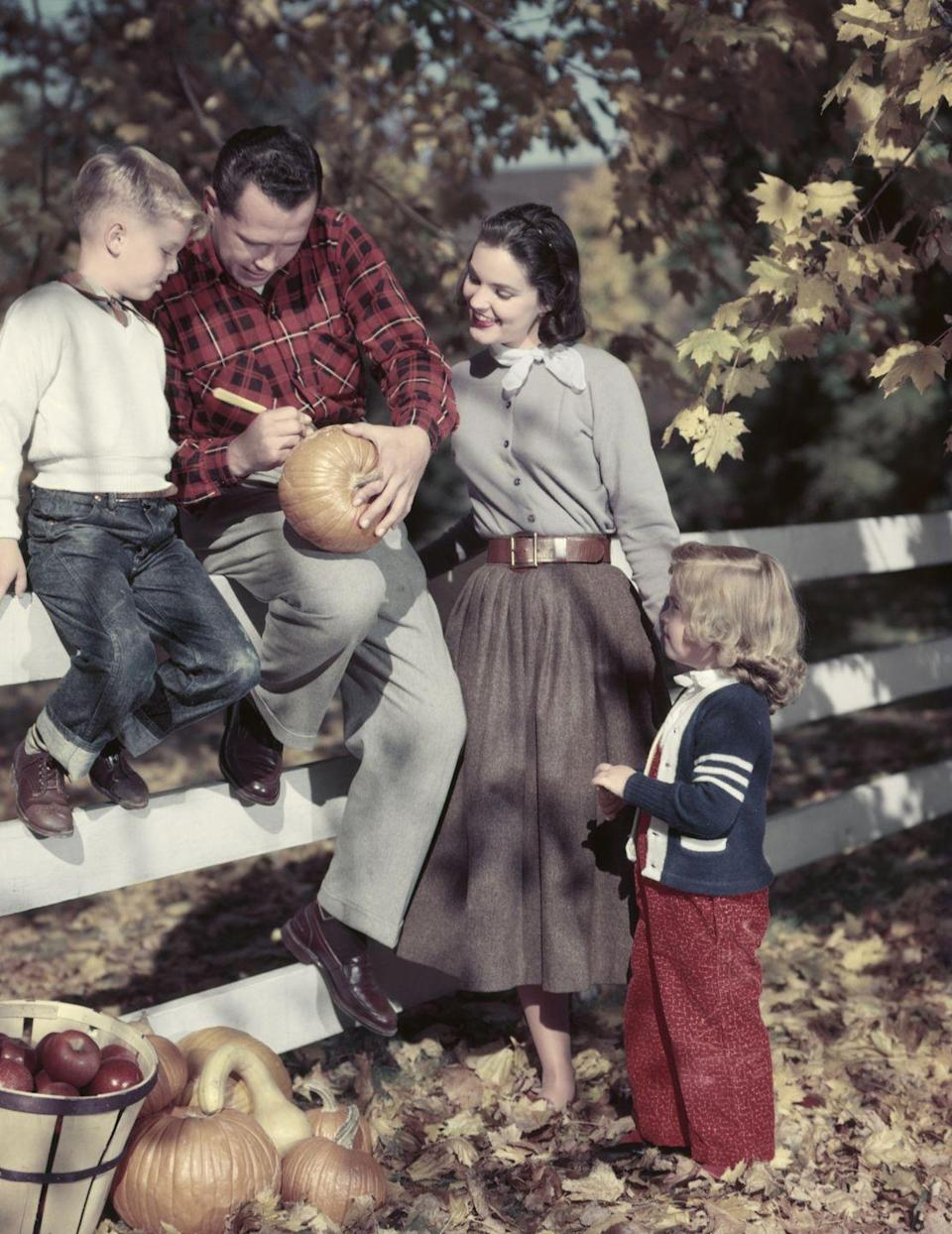 <p>Despite the vandalism that went hand in hand with Halloween night during the 1920s and '30s, by the 1950s, Halloween had transformed into a family-friendly holiday geared toward children. Thanks to the post-war baby boom, Halloween parties were moving away from town centers and into private homes and schools.</p>