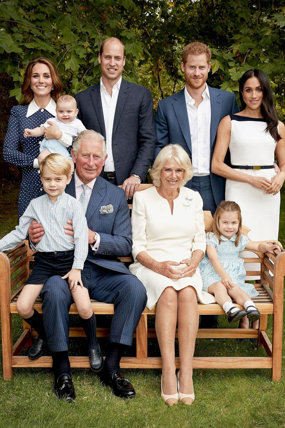 "<p>In honor of Prince Charles's 70th birthday, the royal family <a href=""https://www.harpersbazaar.com/celebrity/latest/a25046402/prince-charles-70th-birthday-portraits/"" rel=""nofollow noopener"" target=""_blank"" data-ylk=""slk:posed"" class=""link rapid-noclick-resp"">posed</a> in a series of stunning portraits at the Clarence House gardens. Prince George, Princess Charlotte, and Prince Louis steal the show, of course. </p>"