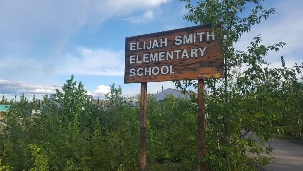 Yukon health officials said Monday that one of five new COVID-19 cases reported Monday was in a student atElijah Smith Elementary School in Whitehorse, and that parents are being notified. (Paul Tukker/CBC - image credit)