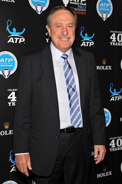 Australian tennis legend John Newcombe at the ATP Heritage Celebration on August 23, 2013 in New York (AFP Photo/D Dipasupil)