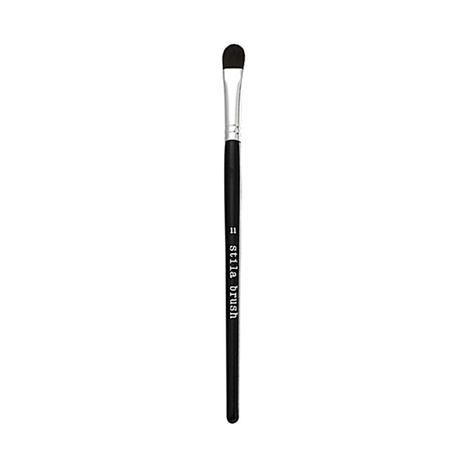 "<p>""The <b>Stila #11 Concealer Brush</b> is designed to be a concealer brush, but I actually use it to apply cream eye shadow. The synthetic brush has a long, flat tip, which is ideal for packing color onto the eyelid."" —Wendy Rowe, who has worked with Christy Turlington, Sienna Miller, and Victoria Beckham</p><p>$20 (<a rel=""nofollow"" href=""https://www.amazon.com/stila-Face-Concealer-Brush-No/dp/B0013MU3CO?mbid=synd_yahoobeauty"">amazon.com</a>).</p>"