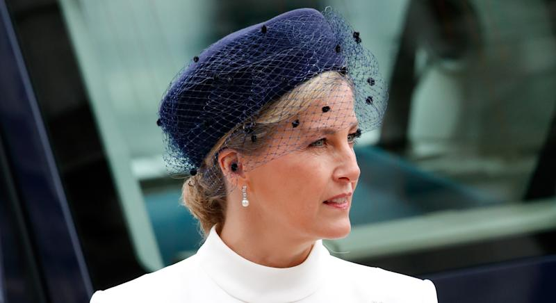 Sophie, Countess of Wessex, made a secret visit to a homeless shelter during the coronavirus pandemic (Getty Images)
