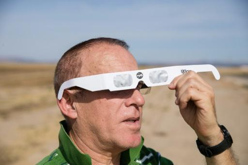 Partial phase of US solar eclipse begins