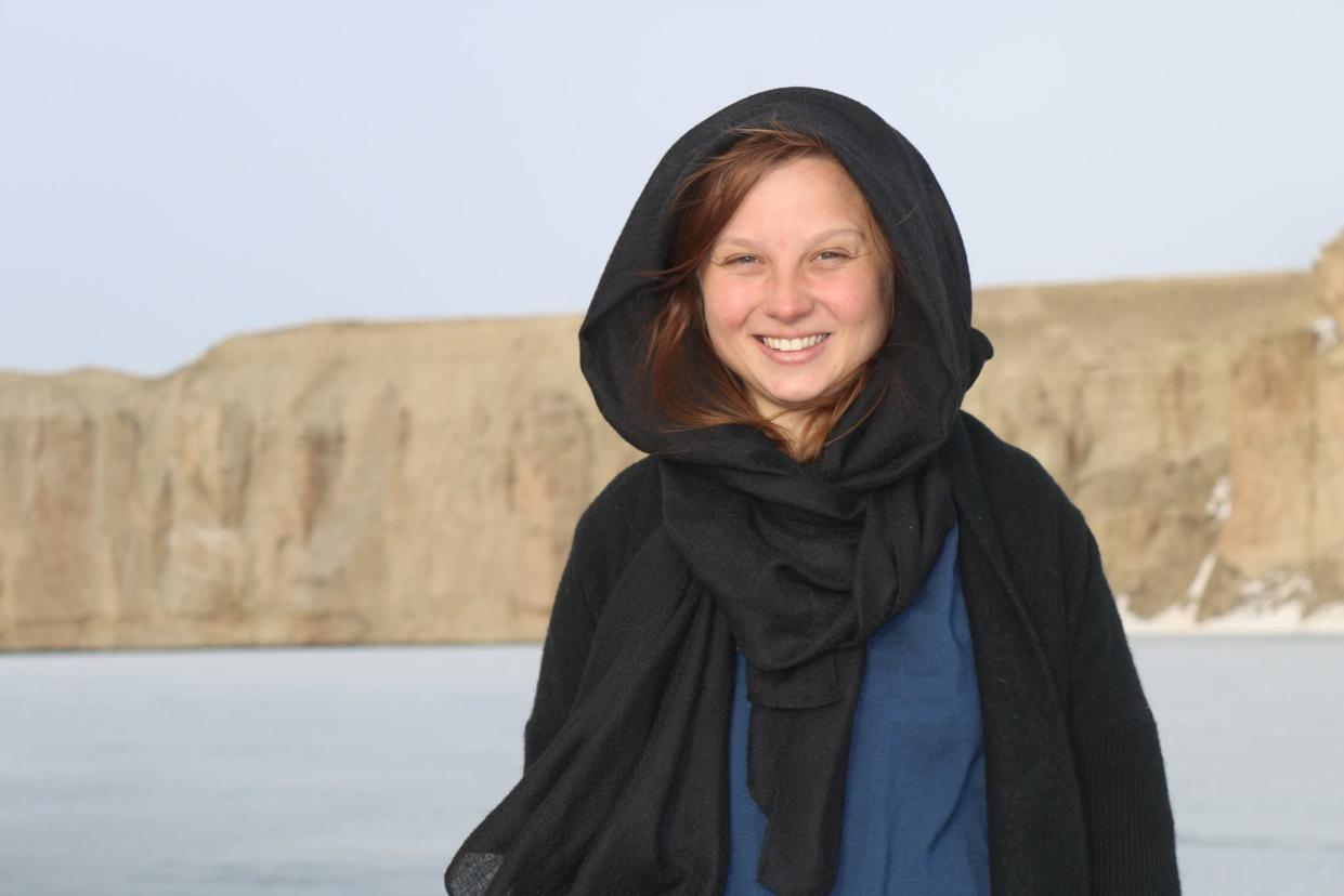 Ms Chevallier has been working in Kabul since September (Kitty Chevallier)