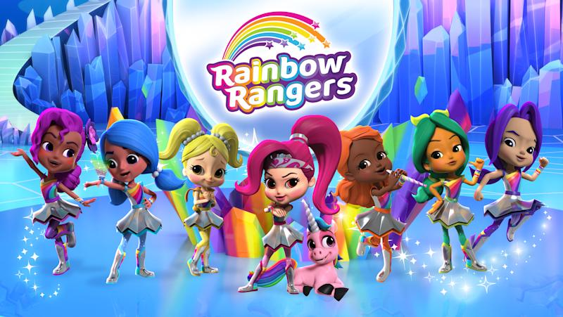Nickelodeon's Nick Jr. will now broadcast Rainbow Rangers Monday – Friday, 3x per day, and on the weekends with a new episode premiering each Sunday. The rescue-based preschool series follows the adventures of seven girls who are Earth's first responders, protecting people, animals, resources, and the natural beauty of our world.
