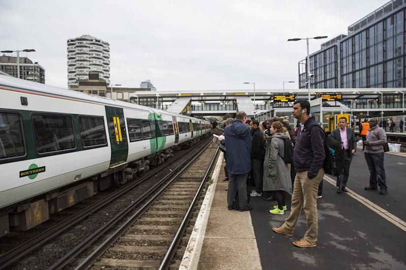East Croydon: The person was hit just after 9am: Jack Taylor/Getty Images