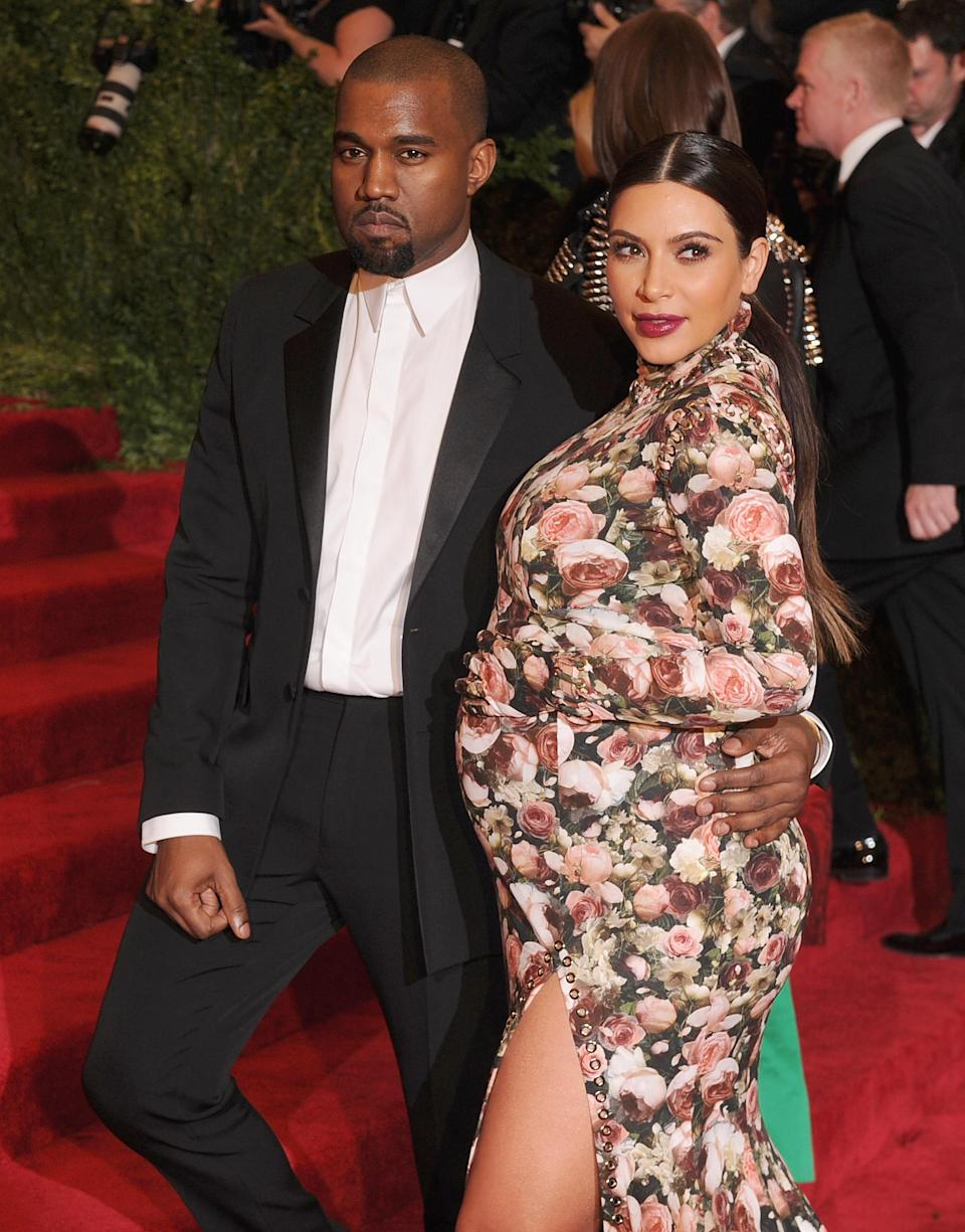Kim Kardashian looked like the cat that got the cream when she scored an invite to the 2013 Met Gala. Photo: Getty