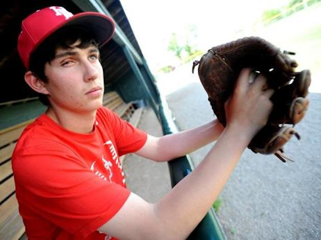 Illinois prep junior pitcher Jameson Lamb lost sight in his right eye in a fireworks accident -- Chicago Sun-Times