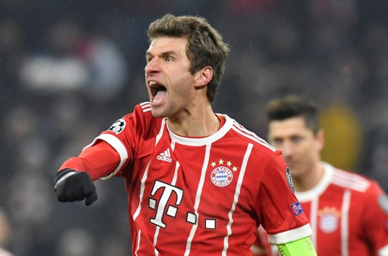 Thomas Mueller got the ball rolling and Bayern never looked back