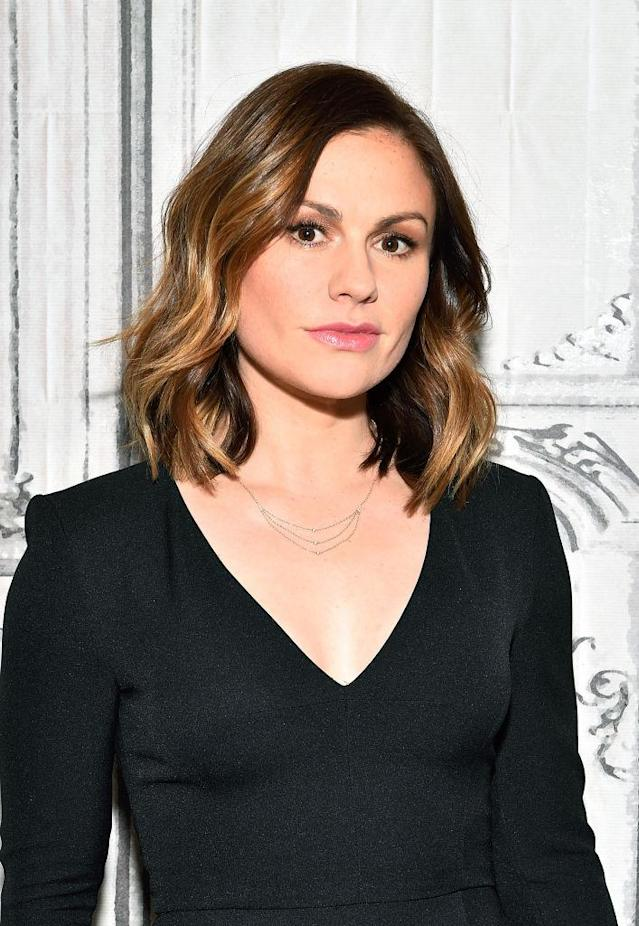 Anna Paquin at Build Studio on Jan. 18. (Photo: Getty Images)