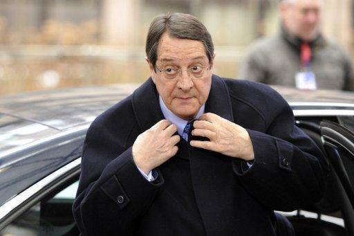 Cyprus leader faces anger at bank-saving EU bailout