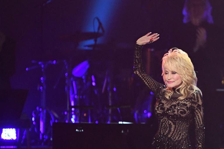 Dolly Parton, seen in February 2019, will feature in her first ad during a Super Bowl
