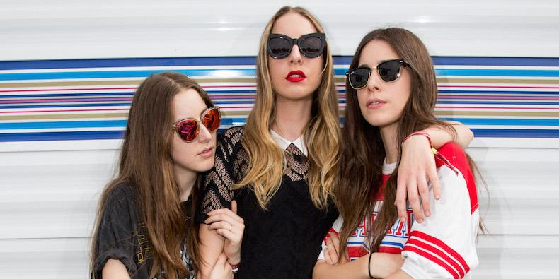 Haim Tease New Music With Billboards Around the World