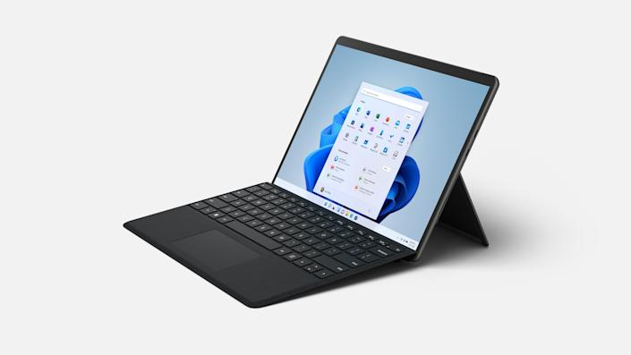 The Surface Pro 8.