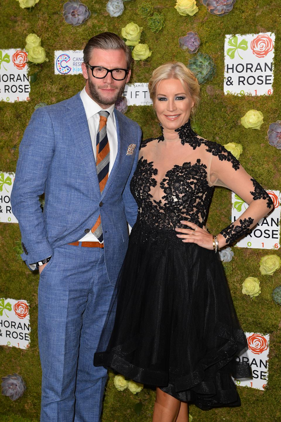 Denise van Outen and Eddie Boxshall, who are hoping to get married this year, say therapy will give them a stronger relationship in the long term